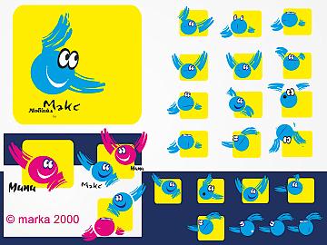 2000/мобайл* разработка серии знаков, логотип / изготовление и размещение рекламы на городском транспорте  Просмотров: 1036 Комментариев: 0