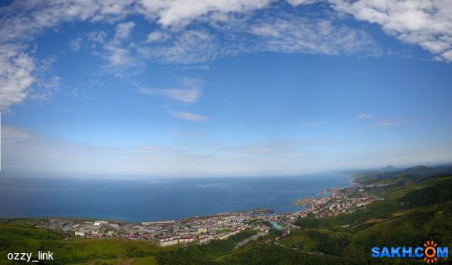 Панорама г. Холмска