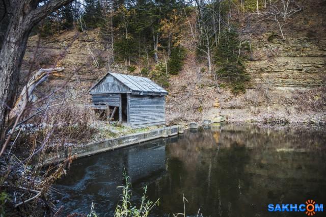 Старый водозабор на реке Невельская. Фотограф: Игорь Голубцов  Просмотров: 2364 Комментариев: 0
