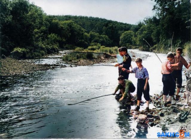 На реке Очиха, в те далёкие годы когда Земля была плоская и мир стоял на трёх китах...