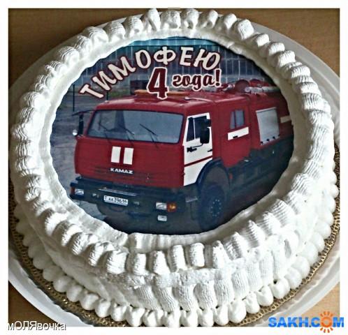 Картинки торт пожарная машина кремом побывали киргизии