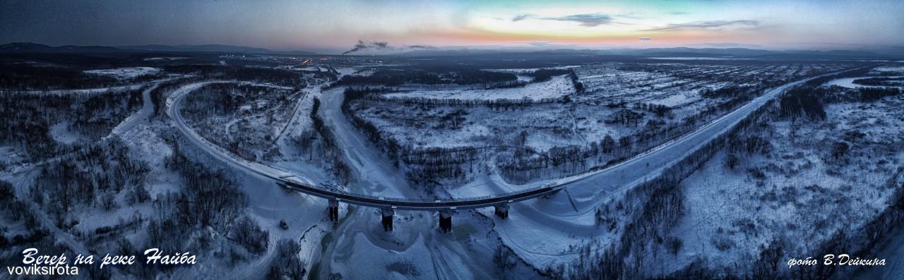 Вечер не реке Найба Фотограф: В.Дейкин  Просмотров: 116 Комментариев: 4