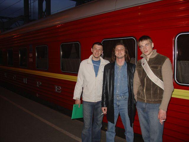 Поезд Питер-Москва Прощаемся с друзьями и летим в Москву на Красной Стреле.  Просмотров: 2427 Комментариев: 0