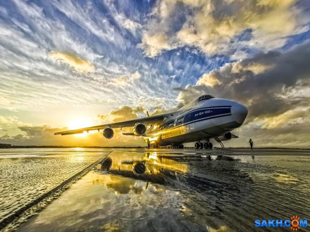 Ан-124 Руслан. Волга-Днепр.