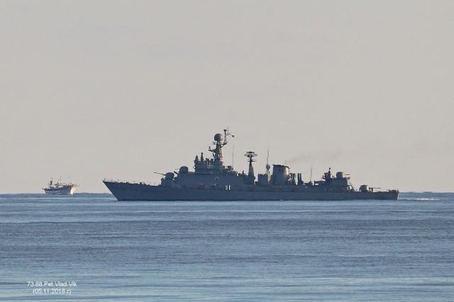 Южно-корейский корабль. Фотограф: 7388PetVladVik  Просмотров: 1288 Комментариев: 0