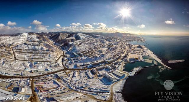 Холмск в январе 2017 Фотограф: В.Дейкин  Просмотров: 343 Комментариев: 4