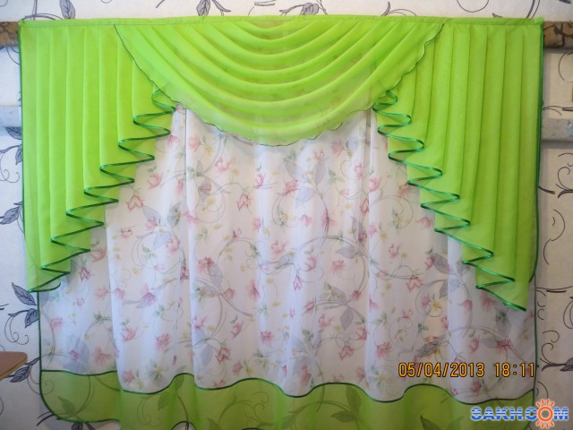 Сшить штору из вуали своими руками