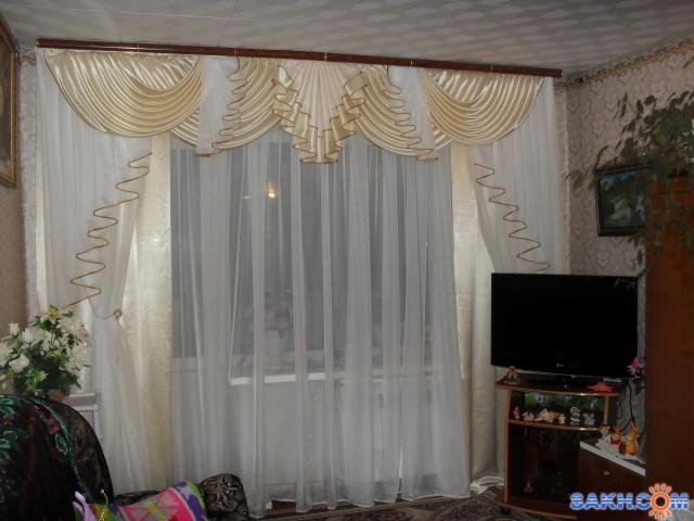 Шторы ламбрекены для зала фото