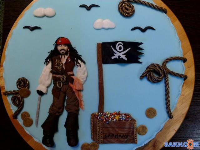 фото тортиков джек и пираты обжарилась почти румяной