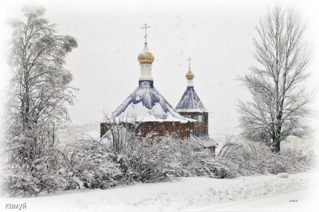 Церковь в Долинске