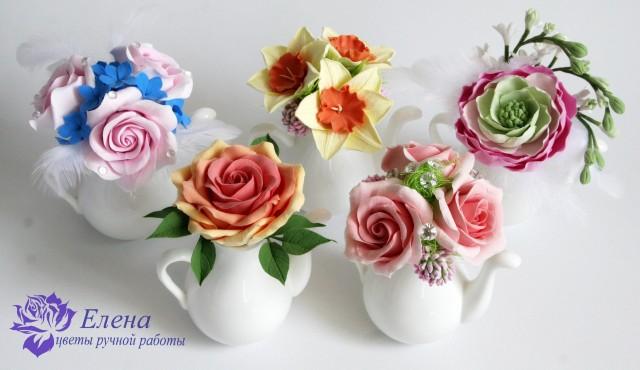 Цветочный чайничек  Просмотров: 210 Комментариев: 0