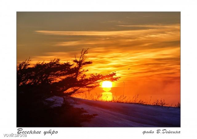 Восход... Фотограф: В.Дейкин  Просмотров: 292 Комментариев: 1