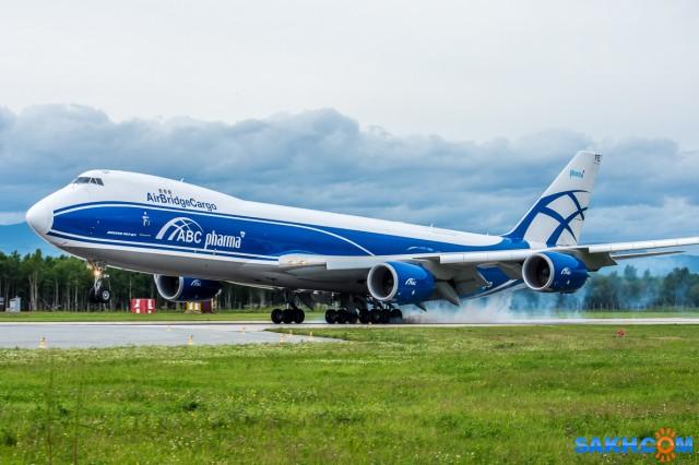 Boeing 747. AirBridge Cargo. 30.07.2018