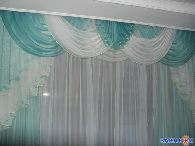 Маруська_Я: шторы с ламбрекенами.