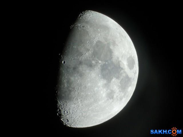 И у луны есть пуп!