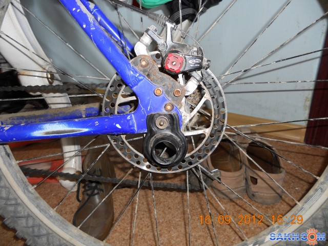 Дисковые тормоза для велосипеда своими руками