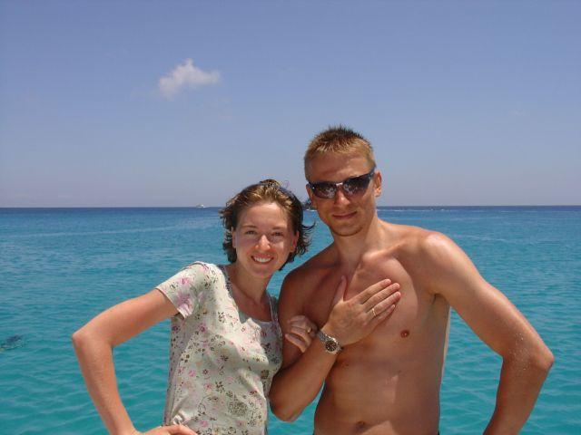 Кипр. Айя-напа. Я и моя половинка. Белый песочек, красивейшее море. Классно было.  Просмотров: 4186 Комментариев: 2