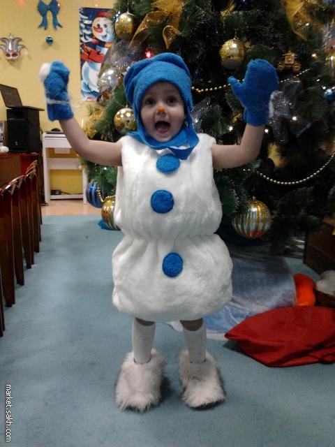Новогодний костюм малышу своими руками фото