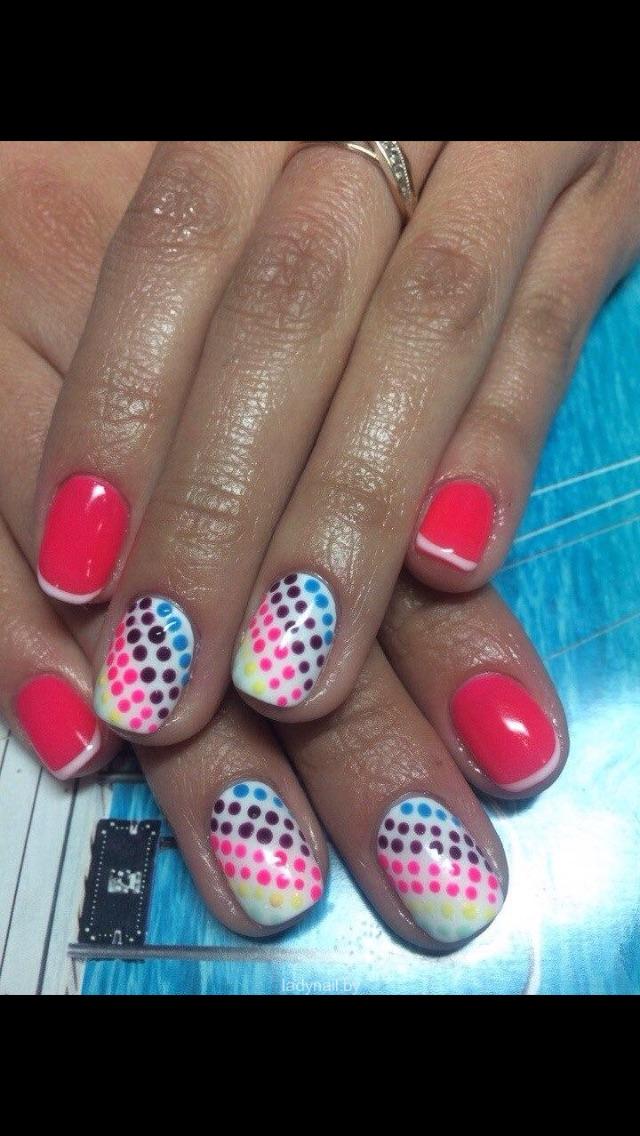 Модные дизайны ногтей гель лаком фото