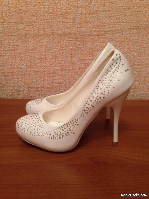 Свадебные туфли (размер 35,5). Одежда, обувь и аксессуары. Женская