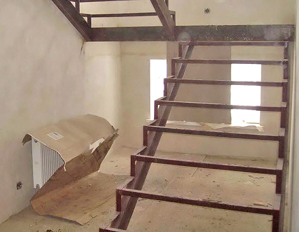 Лестница своими руками для