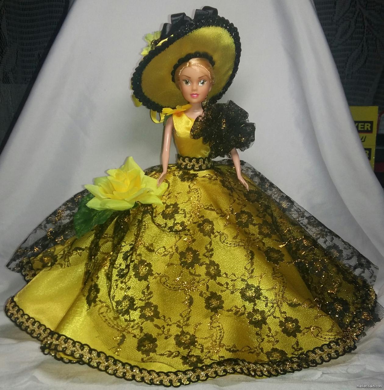 Как сделать куклу-шкатулку из барби