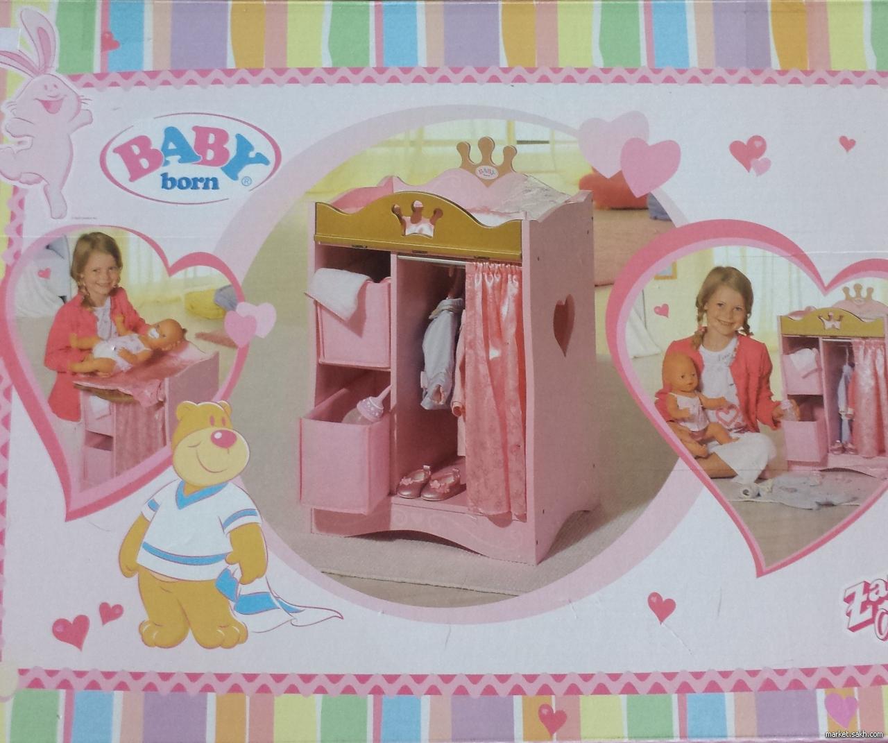 Шкаф для куклы беби бон своими руками 2