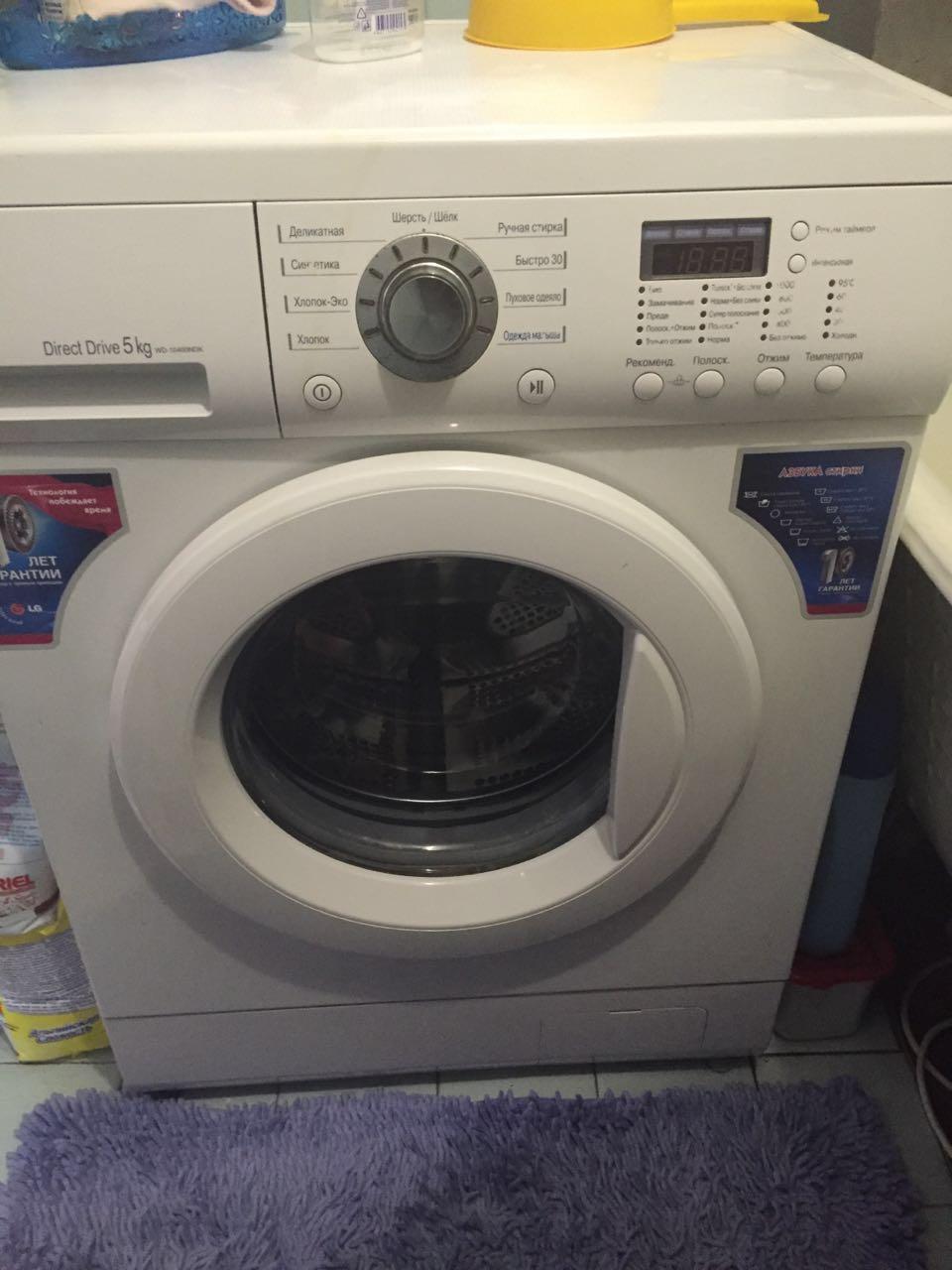 Ремонт lg стиральной машины wd-80155nu своими руками