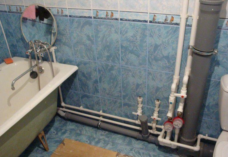 Сантехника для ванны своими руками