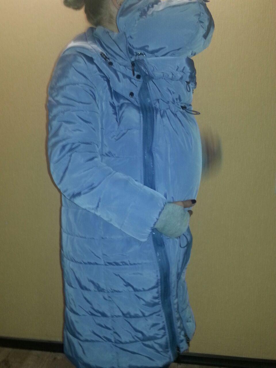 Слинговставка в куртку для беременных 99