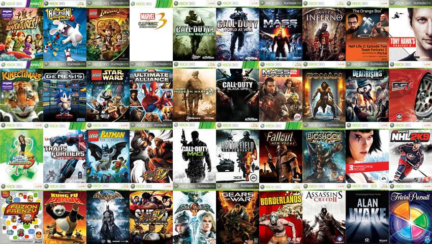 Xbox лицензионные игры