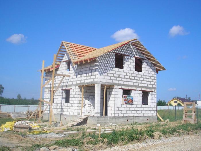 Строительство из газоблока