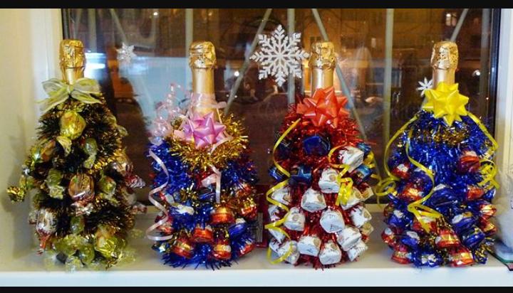 Сувениры новогодние своими руками видео
