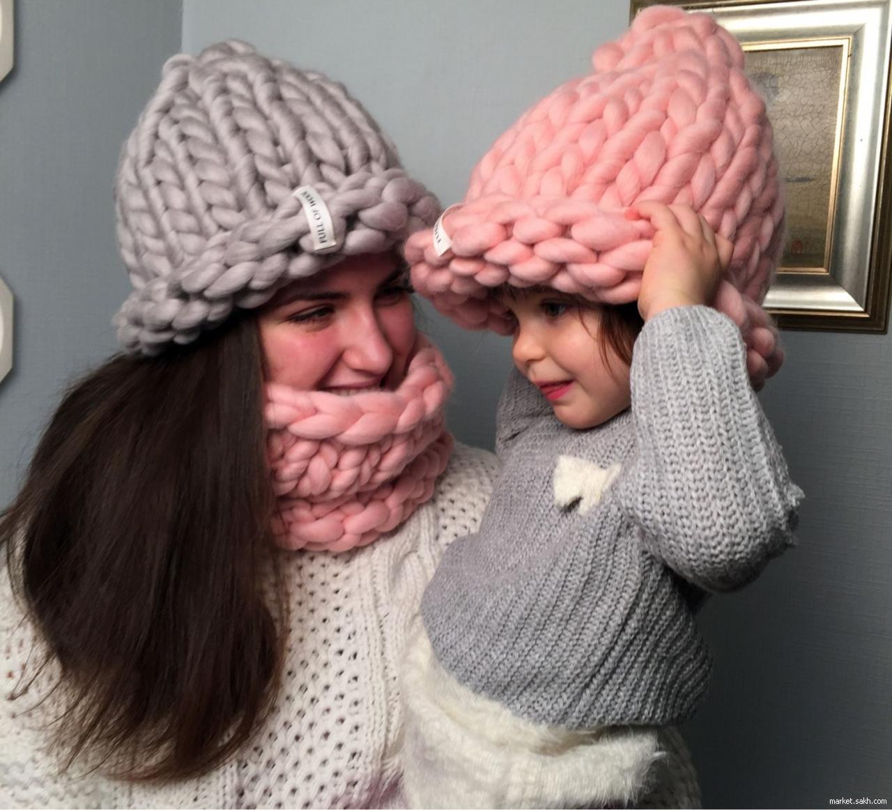 Как связать модные шапки своими руками