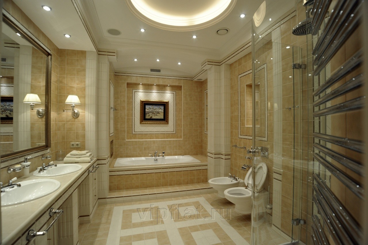 Дизайн элитных ванных комнат фото