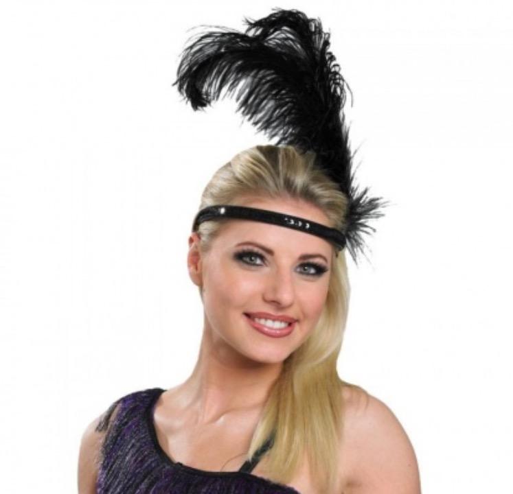 Перо для повязки на голову своими руками