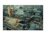 Выгрузка камбалы-сырца на причале рыбколхоза САХАЛИН (2000 год) Фотограф: 7388PetVladVik  Просмотров: 4629 Комментариев: 3