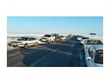Стоянка на найбинском мосту.. Особенно ругаются водители большегрузов  Просмотров: 81 Комментариев: