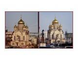MyCollages Православный Спасо-Преображенский собор в центре города  Просмотров: 53 Комментариев: