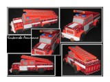 пожарная машина с днем пожарной охраны! сладкая пожарная машина придется по вкусу как взрослому, так и ребенку.  Просмотров: 1968 Комментариев: 0