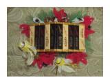 скворечник со сладостями 10 шоколадок Roshen, 11 конфет Марсиянка + сладости внутри скворечника.  содержимое можеть быть по вашему желанию.   возможно изготовление на заказ. Фантазия и возможности альбомом не ограничены :))  Просмотров: 1407 Комментариев: 0