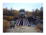 По мосточку через р.Вал  Просмотров: 1320 Комментариев:
