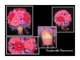 композиция в бокале высота композиции 30см. ширина 25см. в композиции 33 цветка ручной работы, соединенные в одну композицию. наполненность бокала тоже ручной работы. можно выполнить в любой цветовой гамме и размере.  Просмотров: 2489 Комментариев: 0