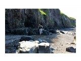 Мыс Ходжи - это полкилометра десятиэтажных скал, залитых приливом.. Фотограф: vikirin  Просмотров: 1399 Комментариев: 0