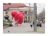 Сердце из шаров  Просмотров: 3509 Комментариев:
