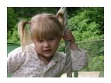 Название: Моя малышка Фотоальбом: Мои фотографии Категория: Дети  Время съемки/редактирования: 2009:07:11 11:58:34 Фотокамера: SONY - DSC-S650 Диафрагма: f/4.8 Выдержка: 1/250 Фокусное расстояние: 1740/100 Светочуствительность: 100   Просмотров: 3802 Комментариев: 0