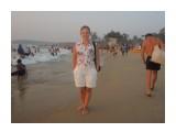 DSCN0935 Индия, пляж Калангут. Кажется все индусы приехали на море...  Просмотров: 12 Комментариев: