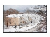 Снег 15 ноября Фотограф: стран_ник вид с окна  Просмотров: 1560 Комментариев: 5