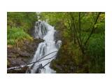 Верхний водопад Водопадный каскад на р. Давеча.  Просмотров: 5 Комментариев: