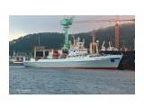 7388PetVladVik: ГЕНЕРАЛ  ТРОШЕВ.  ( IMO  9121144,  MMSI  273350810,  CS  UAJO).   Порт Пусан.